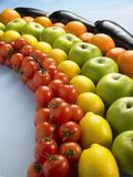 Rainbow Produce Royalty Free Stock Photo