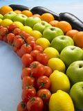 Rainbow Produce2 Stock Image