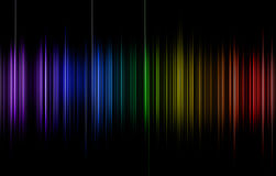 Rainbow pulse Royalty Free Stock Photos