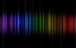 Rainbow pulse Royalty Free Stock Photos