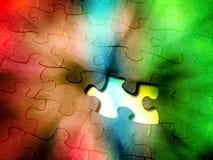 Rainbow Puzzle Stock Image