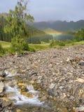 rainbow after the rain Royalty Free Stock Photos