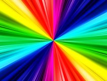 Rainbow ray background. A very colorful rainbow ray background Royalty Free Stock Image