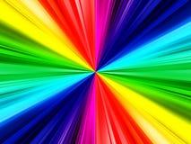 Rainbow ray background Royalty Free Stock Image