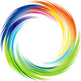 Rainbow Ray of lights explosion background Royalty Free Stock Image