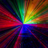 Rainbow rays Royalty Free Stock Photos