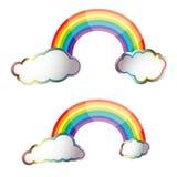 Rainbow reflect Stock Photo
