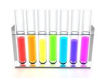 Rainbow retorts Stock Photography