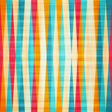 Rainbow rhombus seamless pattern Stock Photo