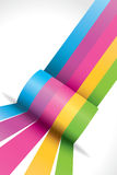 Rainbow ribbon Royalty Free Stock Photography