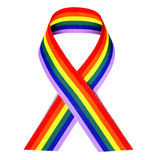 Rainbow ribbon Royalty Free Stock Photo
