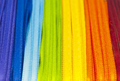Rainbow ribbons Stock Photo