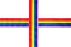 Rainbow ribbons Royalty Free Stock Photo