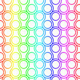 Rainbow Ring Scales Seamless Pattern Royalty Free Stock Photo