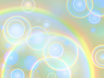 Rainbow rings. Background. Stock Images