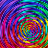 Rainbow Ripples Royalty Free Stock Images