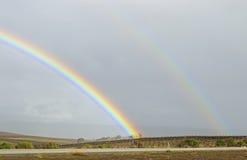 Rainbow Road Royalty Free Stock Photo