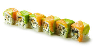Rainbow Roll Royalty Free Stock Photos