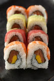 Rainbow Roll Royalty Free Stock Images