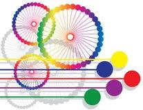 Rainbow Rollers Stock Photos