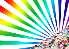 Rainbow romance Royalty Free Stock Photo