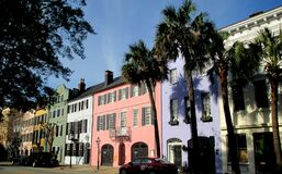 Free Rainbow Row. Charleston, SC. U.S.A Stock Photos - 173171443