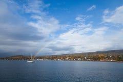 Rainbow Sailboat Stock Photos