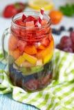 Rainbow sangria Stock Photo