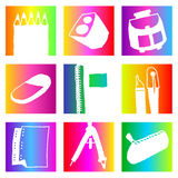 Rainbow school Royalty Free Stock Photography