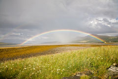 Rainbow, Scotland Stock Photography