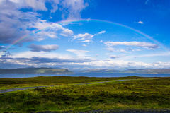 Rainbow in Scotland Royalty Free Stock Photo