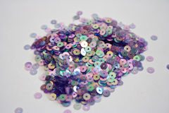 Rainbow sequins Royalty Free Stock Photography