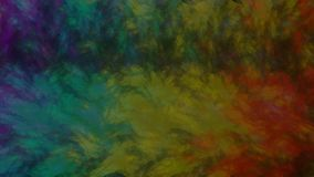 Rainbow Series Background Canvas oil painting stock illustration