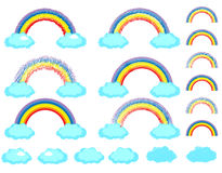 Rainbow set Royalty Free Stock Photography