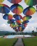 Rainbow shades stock photo