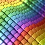 Rainbow shape Stock Photos