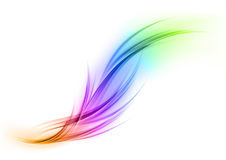 Rainbow shape Stock Photo