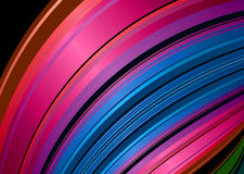 Rainbow shell background Royalty Free Stock Photography