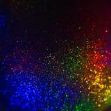 Rainbow shiny festive christmas background or texture