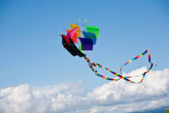 Rainbow Ship kite Royalty Free Stock Images