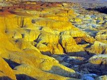 Rainbow Shoal. Is located at 10 Km from Burqin, Northern Xinjiang, China Royalty Free Stock Photos