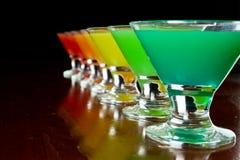 Rainbow shots Royalty Free Stock Photo