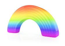 Rainbow sign Stock Photography