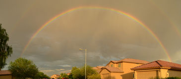 Rainbow Skies Stock Image