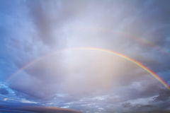 Rainbow in sky Royalty Free Stock Images