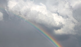 Rainbow in the sky Royalty Free Stock Photos