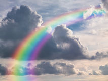 Rainbow in Sky Royalty Free Stock Photography