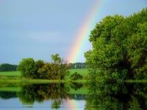 Rainbow in the sky Royalty Free Stock Photo