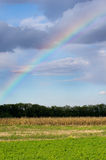 Rainbow on sky Stock Photo