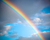 Rainbow sky background Royalty Free Stock Photos